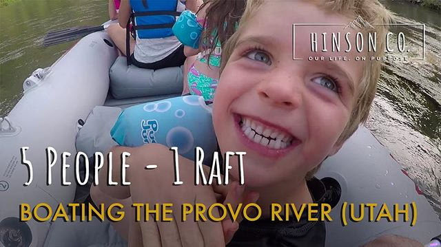 New video is up on the blog and YouTube! Go check them out! (link in bio)• This vlog shows some of our drive over from Wyoming to and boating down the Beautiful #provoriver. •